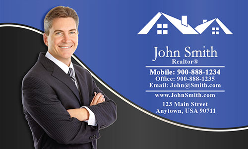 Custom Realty Business Card - Design #106133
